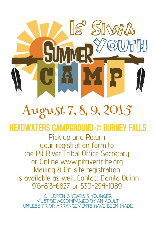 August 7,8,9 2015 Is' Si Wa Youth camp